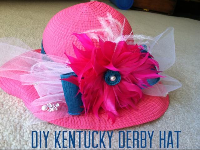 Diy Tutorial Kentucky Derby Hat Sassy In Sequins