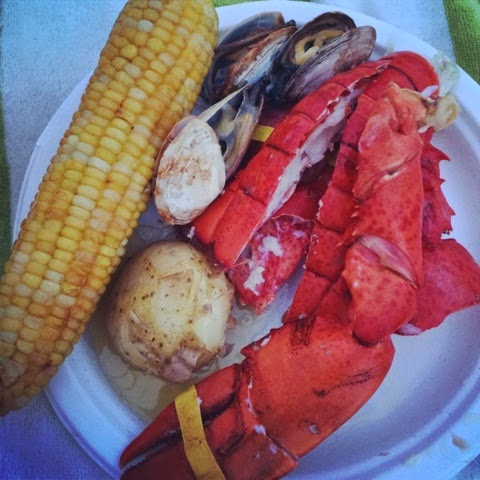 lobsterbake clambake food
