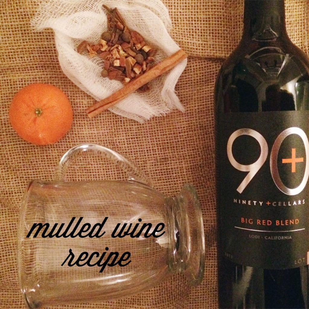 mulled wine recipe 90 plus cellars