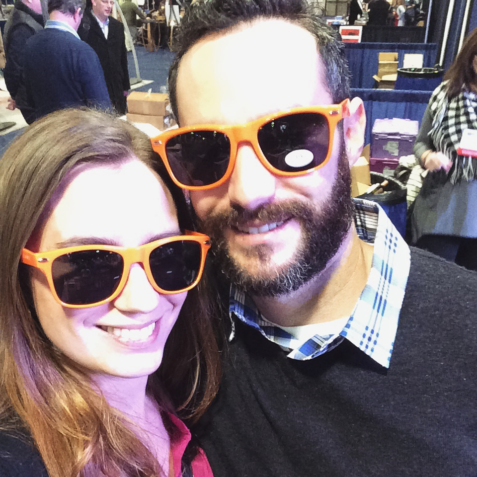90 plus cellars orange sunglasses