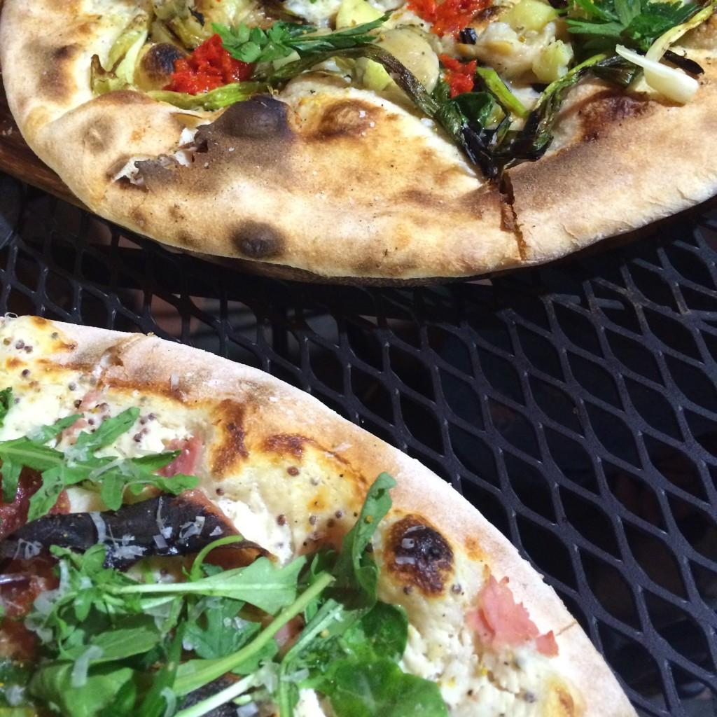 pizza salty pig restaurant back bay boston