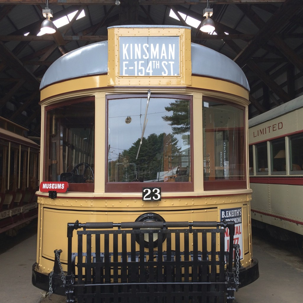 seashore trolley museum maine