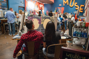 muse paintbar couples night