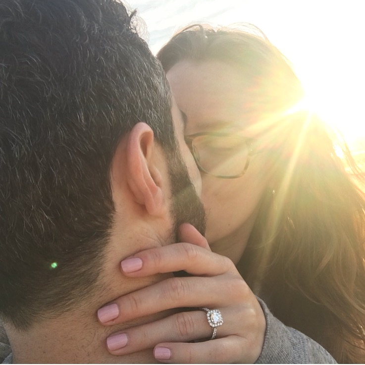 engagement ring sunrise