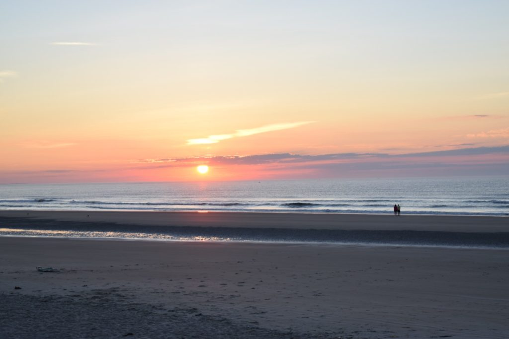 sunrise footbridge beach ogunquit maine