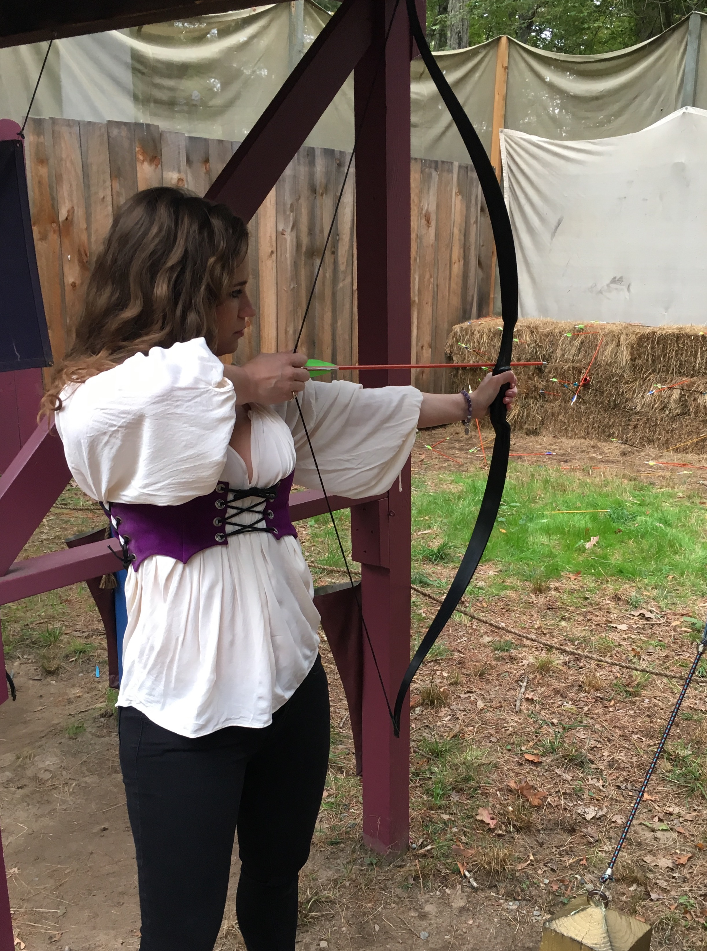 archery at king richards faire