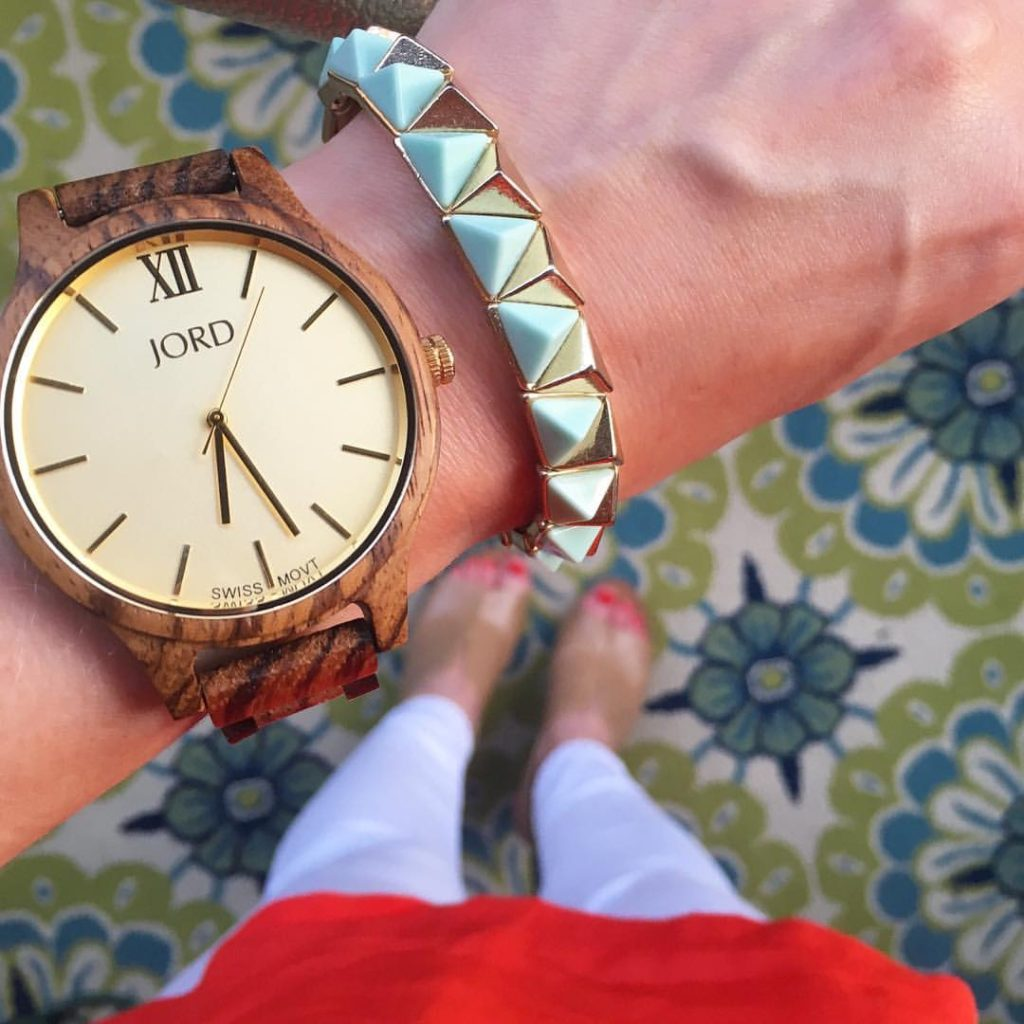 fashionable wooden watches