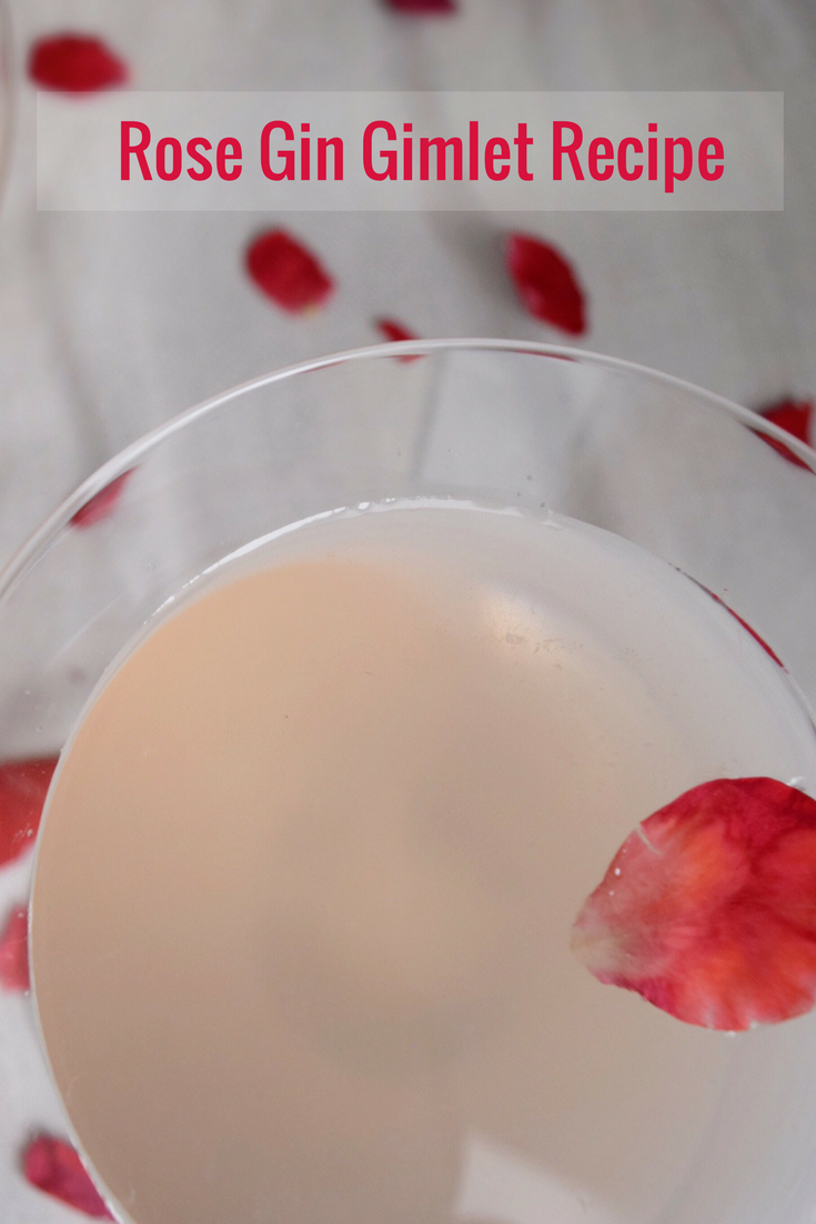 rose gin gimlet recipe