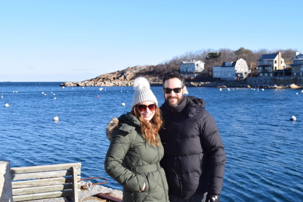 winter day trip rockport mass